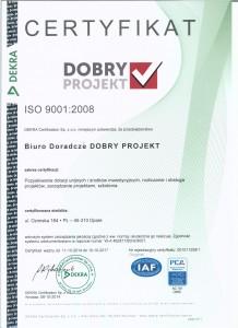 certyfikat ISO nowy do 2017 001